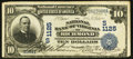 National Bank Notes:Virginia, Richmond, VA - $10 1902 Date Back Fr. 616 NB of Virginia Ch. #(S)1125. ...