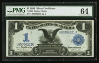 Fr. 233 $1 1899 Silver Certificate PMG Choice Uncirculated 64