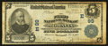 National Bank Notes:New York, Moravia, NY - $5 1902 Plain Back Fr. 598 The First NB Ch. # (E)99. ...