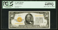 Fr. 2404 $50 1928 Gold Certificate. PCGS Very Choice New 64PPQ
