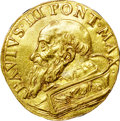 Italy:Papal States, Italy: Papal States. Paolo (Paul) III gold 2 Fiorini di Camera ND(1534-49),...