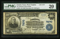 National Bank Notes:West Virginia, Charles Town, WV- $10 1902 Plain Back Fr. 624 The National CitizensBank Ch. # 7270. ...