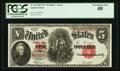 Large Size:Legal Tender Notes, Fr. 91 $5 1907 Legal Tender PCGS Extremely Fine 40.. ...