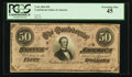 Confederate Notes:1864 Issues, Low Serial Number 8 T66 $50 1864 PF-5 Cr. 498.. ...