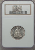 Seated Quarters, 1879 25C MS66 NGC....