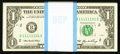 Small Size:Federal Reserve Notes, Solid Serial Number 11111111 Fr. 1933-B $1 2006 Federal Reserve Notes. Original Pack of 100. Gem Crisp Uncirculated.. ... (Total: 100 notes)