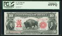 Fr. 122 $10 1901 Legal Tender PCGS Extremely Fine 45PPQ