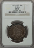 Bust Half Dollars: , 1829/7 50C XF45 NGC. O-101a. NGC Census: (20/142). PCGS Population(39/141). Numismedia Wsl. Price for problem free NGC/P...