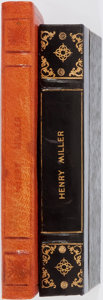 Books:Literature 1900-up, Henry Miller. INSCRIBED. Two Books Inscribed to Pierre Sicari,including: The Rosy Crucifixion. Book One. Sexus. Obelisk...(Total: 2 Items)