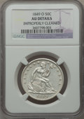 Seated Half Dollars: , 1849-O 50C -- Improperly Cleaned -- NGC Details. AU. NGC Census: (5/58). PCGS Population: (15/77). CDN: $550 Whsle. Bid for...