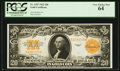 Large Size:Gold Certificates, Fr. 1187 $20 1922 Gold Certificate PCGS Very Choice New 64.. ...