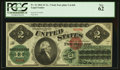 Large Size:Legal Tender Notes, Fr. 41 $2 1862 Legal Tender PCGS New 62.. ...