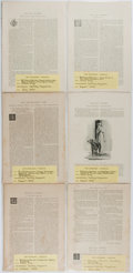 Books:Literature Pre-1900, Grace King and W. J. Stillman. Six First Appearances in CenturyMagazine. 1893. Five by King, one by Stillman, a...
