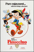"""Movie Posters:Animation, Pinocchio & Other Lot (Buena Vista, R-1984). One Sheets (2) (27"""" X 41""""). Animation.. ... (Total: 2 Items)"""