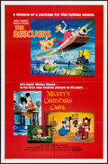 "Movie Posters:Animation, The Rescuers/Mickey's Christmas Carol Combo & Other Lot (BuenaVista, R-1983). One Sheets (2) (27"" X 41""). Animation.. ... (Total:2 Items)"
