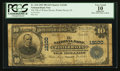 National Bank Notes:Florida, Winter Haven, FL - $10 1902 Plain Back Fr. 634 The NB of Winter Haven Ch. # 12100. ...