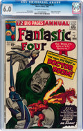 Silver Age (1956-1969):Superhero, Fantastic Four Annual #2 (Marvel, 1964) CGC FN 6.0 Off-white to white pages....