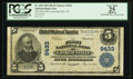 National Bank Notes:Virginia, Lawrenceville, VA - $5 1902 Plain Back Fr. 600 The First NB Ch. #9433. ...