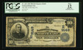 National Bank Notes:Pennsylvania, North East, PA - $10 1902 Plain Back Fr. 626 The NB of North East Ch. # (E)9149. ...