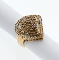 Estate Jewelry:Rings, Colored Diamond, Gold Ring. ...