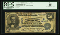 New York, NY - $50 1902 Date Back Fr. 669 Union Exchange NB Ch. # (E)9360