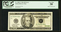 Error Notes:Inking Errors, Fr. 2083-F $20 1996 Federal Reserve Note. PCGS Very Fine 30.. ...