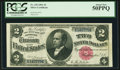 Large Size:Silver Certificates, Fr. 245 $2 1891 Silver Certificate PCGS About New 50PPQ.. ...