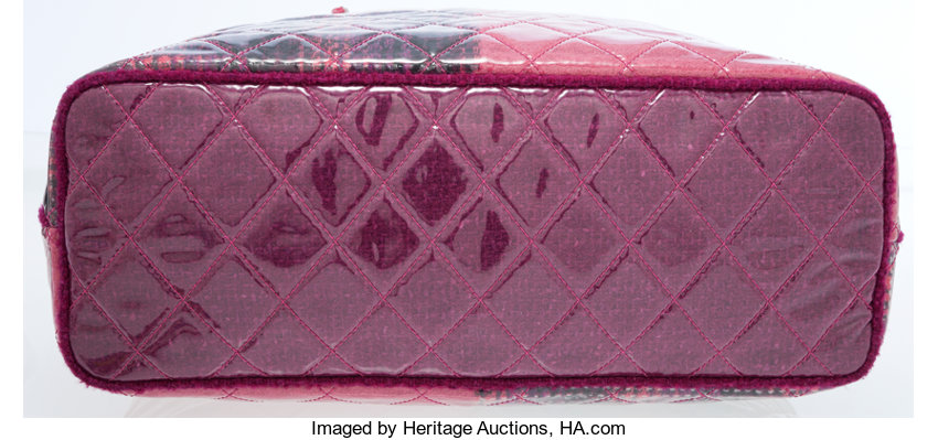 95fd091e8bf12e Chanel Pink & Purple Laminated Tweed Oversize Tote Bag. ... | Lot #77022 |  Heritage Auctions