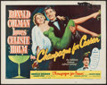 "Movie Posters:Comedy, Champagne for Caesar (United Artists, 1950). Half Sheet (22"" X 28"") Style A. Comedy.. ..."