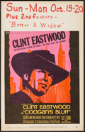 """Movie Posters:Crime, Coogan's Bluff (Universal, 1968). Window Card (14"""" X 22""""). Crime....."""
