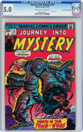 Bronze Age (1970-1979):Horror, Journey Into Mystery (2nd Series) #19 Stan Lee File Copy (Marvel,1975) CGC VG/FN 5.0 Cream to off-white pages....
