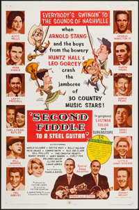 "Second Fiddle to a Steel Guitar (Marathon Pictures, 1965). One Sheet (27"" X 41""). Musical"