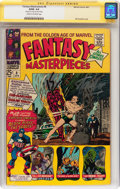 Silver Age (1956-1969):Superhero, Fantasy Masterpieces #8 Signed by Stan Lee (Marvel, 1967) CGC Signature Series GD/VG 3.0 Cream to off-white pages....