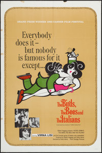 "The Birds, The Bees and the Italians & Others Lot (20th Century Fox, 1966). One Sheets (3) (27"" X 41"") &am..."