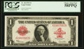 Large Size:Legal Tender Notes, Fr. 40 $1 1923 Legal Tender PCGS Choice About New 58PPQ.. ...