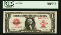 Fr. 40 $1 1923 Legal Tender PCGS Choice About New 58PPQ