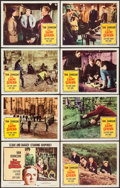 """Movie Posters:War, The Enemy General & Others Lot (Columbia, 1960). Lobby Card Setof 8, Lobby Cards (3) (11"""" X 14""""), One Sheet (27"""" X 41""""), & ...(Total: 23 Items)"""