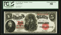 Large Size:Legal Tender Notes, Fr. 92 $5 1907 Legal Tender PCGS Choice About New 58.. ...