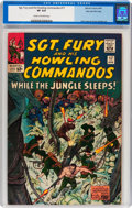 Silver Age (1956-1969):War, Sgt. Fury and His Howling Commandos #17 Stan Lee File Copy (Marvel, 1965) CGC VF 8.0 Cream to off-white pages....
