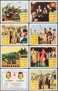 """The Wackiest Ship in the Army (Columbia, 1961). Lobby Card Set of 8 (11"""" X 14"""") & Photos (11) (8""""..."""