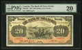 Canadian Currency: , Halifax, NS- The Bank of Nova Scotia $20 Jan. 2, 1929 Ch. #550-28-22. ...