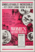 """Movie Posters:Documentary, Women of the World (Embassy, 1963). One Sheet (27"""" X 41""""), Lobby Card Set of 4, Lobby Cards (3) (11"""" X 14""""), & Photos (20) (... (Total: 28 Items)"""