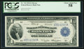 Fr. 710 $1 1918 Federal Reserve Bank Note PCGS Choice About New 58
