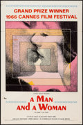 """Movie Posters:Foreign, A Man and a Woman (Allied Artists, 1966). One Sheet (27"""" X 41""""). Foreign.. ..."""