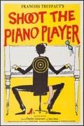 """Movie Posters:Foreign, Shoot the Piano Player (Astor, 1962). One Sheet (27"""" X 41""""). Foreign.. ..."""