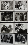 """Movie Posters:Western, Gary Cooper in Fighting Caravans & Others Lot (Paramount, R-1950). Photos (5) & Restrike Photos (10) (8"""" X 10""""). Western.. ... (Total: 15 Items)"""
