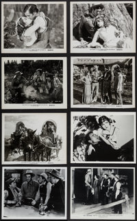 Gary Cooper in Fighting Caravans & Others Lot (Paramount, R-1950). Photos (5) & Restrike Photos (10) (8&...