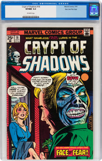 Crypt of Shadows #18 Stan Lee File Copy (Marvel, 1975) CGC VF/NM 9.0 Off-white pages