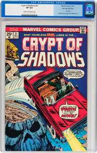 Crypt of Shadows #21 Stan Lee File Copy (Marvel, 1975) CGC VF 8.0 Cream to off-white pages