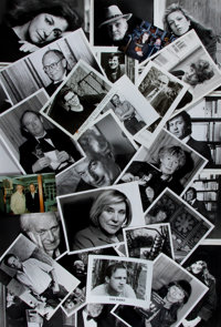 Salman Rushdie, Truman Capote, Russell Banks and many others. Collection of Over Sixty Photographs of Authors. Some c